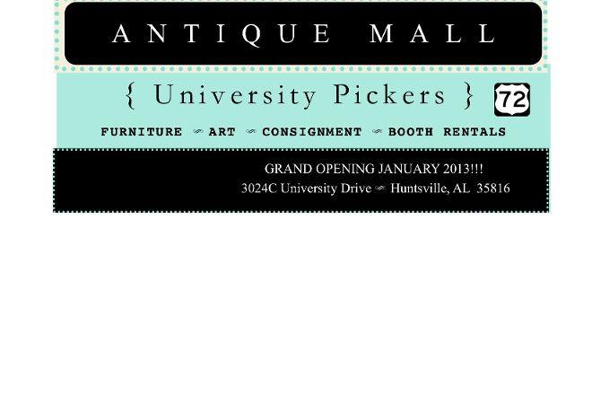 University Pickers, Huntsville, United States