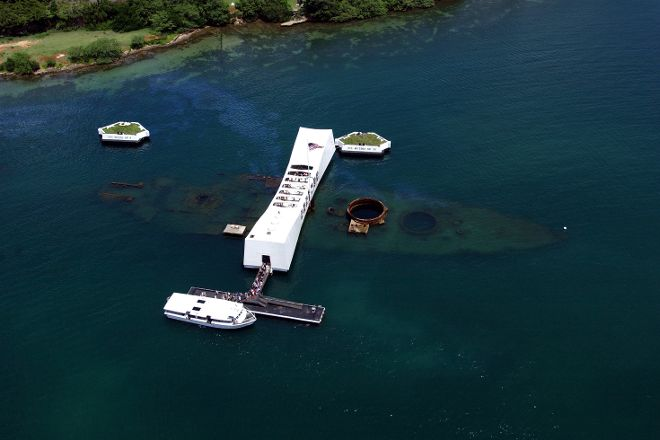 USS Arizona Memorial, Honolulu, United States