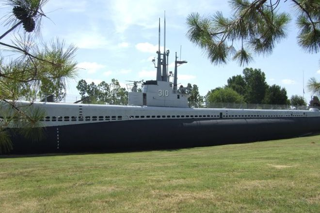 USS Batfish, Muskogee, United States