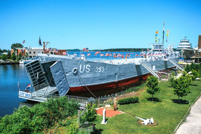 USS LST 393, Muskegon, United States