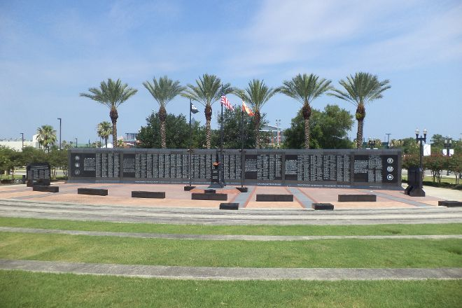 Veterans Memorial Wall, Jacksonville, United States