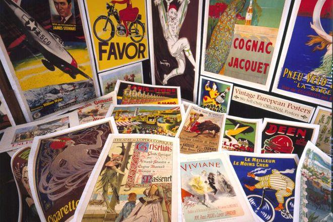 Vintage European Posters, Lahaina, United States