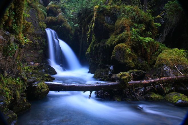 Virgin Creek Falls Trail, Girdwood, United States