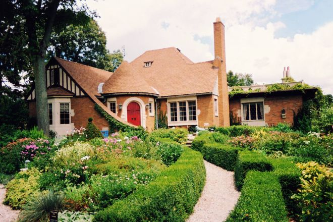 Weber House and Garden, Streator, United States