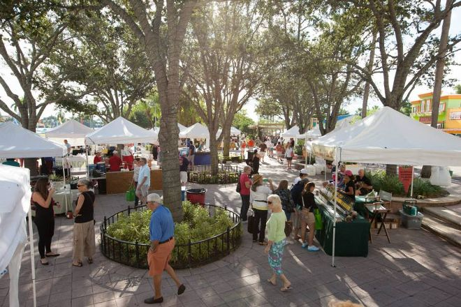 West Palm Beach Green Market, West Palm Beach, United States