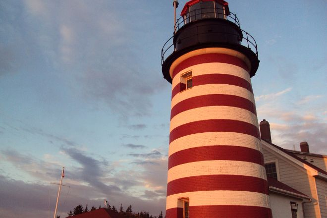 West Quoddy Head Light, Lubec, United States
