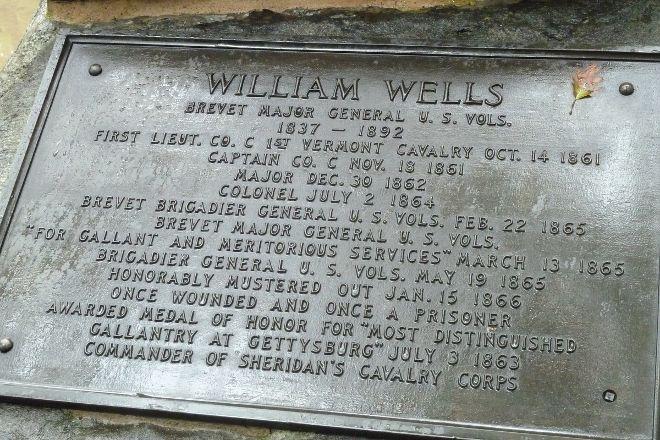 William Wells Monument, Gettysburg, United States
