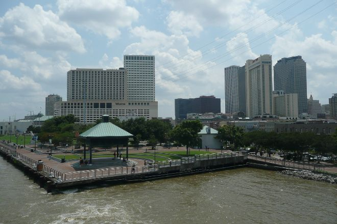 Woldenberg Park, New Orleans, United States