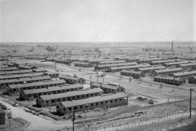 WWII German POW Camp, Concordia, United States