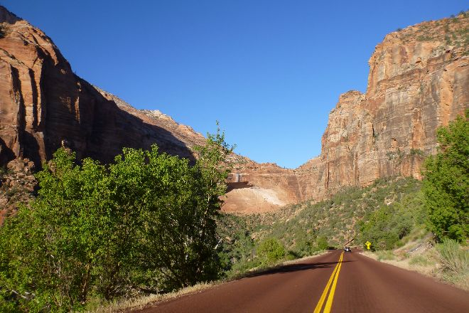 Zion-Mt. Carmel Highway, Zion National Park, United States