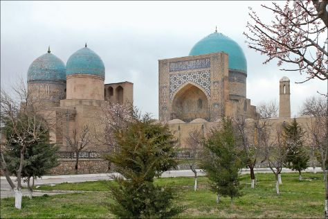 Dorut Tilovat, Shahrisabz, Uzbekistan