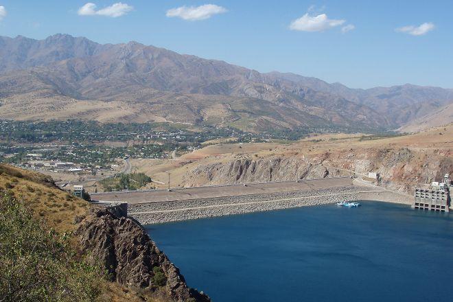 Charvak Reservoir, Yusufhona, Uzbekistan