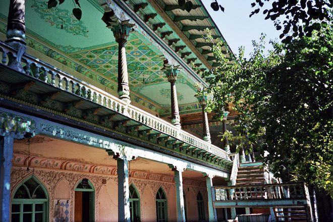 Khonakhan Mosque, Margilan, Uzbekistan
