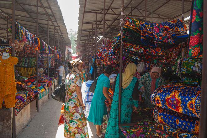 Kumtepa Bazaar, Margilan, Uzbekistan