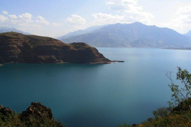 Lake Charvak, Tashkent, Uzbekistan