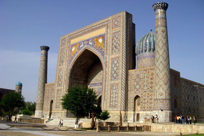 Sher Dor Madrasah, Samarkand, Uzbekistan