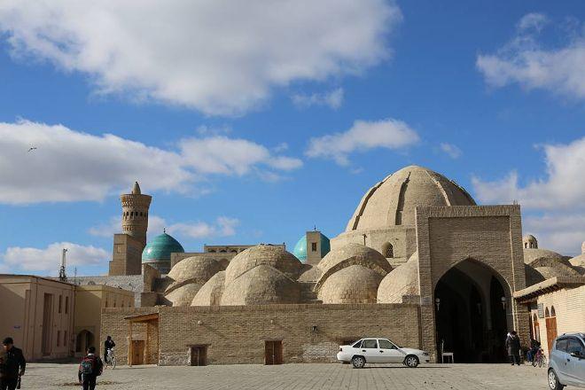 Trading Domes, Bukhara, Uzbekistan