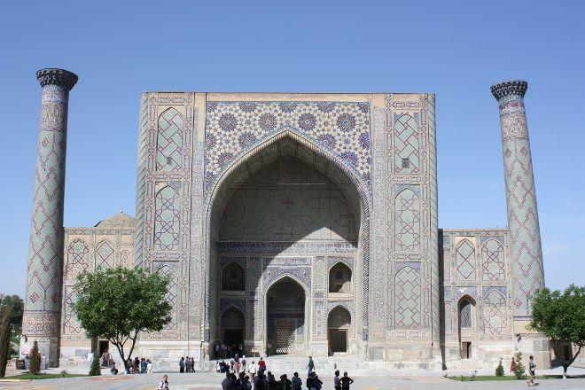 Ulugbek Madrasah, Samarkand, Uzbekistan