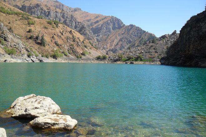 Urungach Lake, Tashkent, Uzbekistan