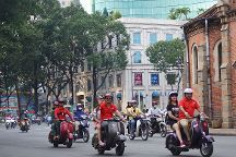 Vespa Rouge, Ho Chi Minh City, Vietnam