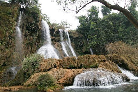 Dai Yem Waterfall, Moc Chau, Vietnam