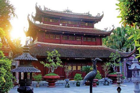 Du Hang Pagoda, Hai Phong, Vietnam