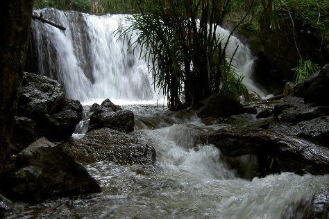 Phu Quoc Waterfall, Ham Ninh, Vietnam