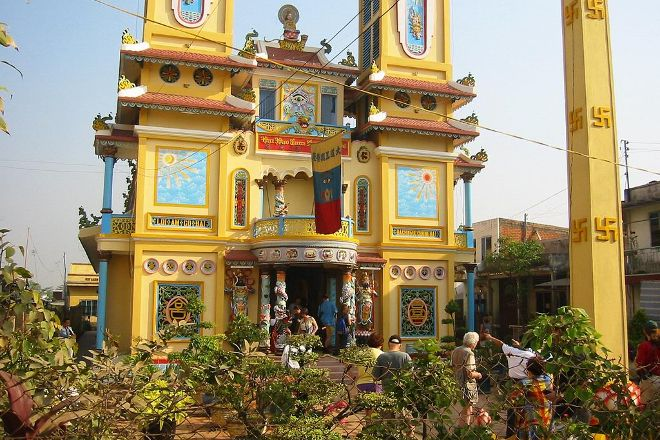 Cao Dai Temple, Duong Dong, Vietnam