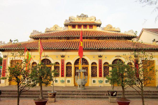 Chau Phu Temple, Chau Doc, Vietnam