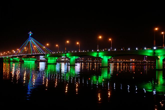 Han River Bridge, Da Nang, Vietnam
