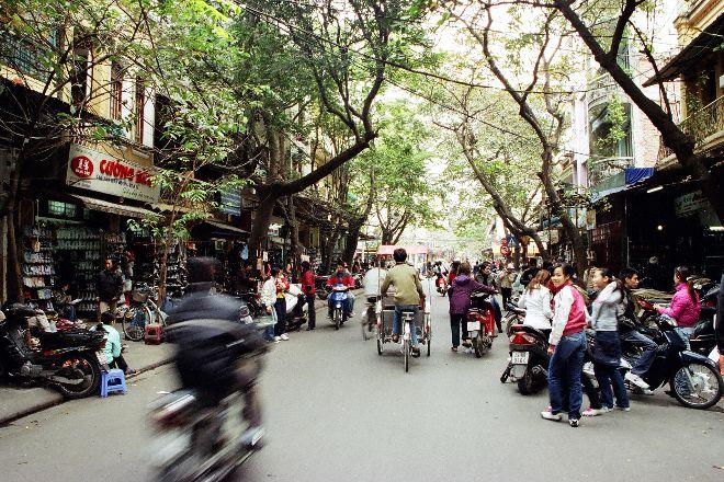 Hang Dau Street, Hanoi, Vietnam