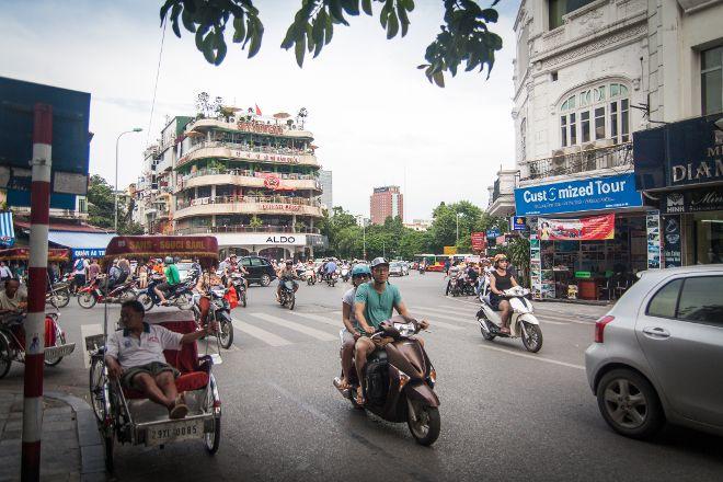 Hang Gai Street (Street of Hemp), Hanoi, Vietnam