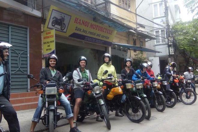 Hanoi Motorcycle, Hanoi, Vietnam