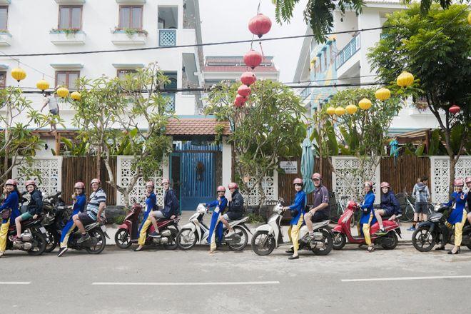Hoian Aodai Ridertour, Hoi An, Vietnam