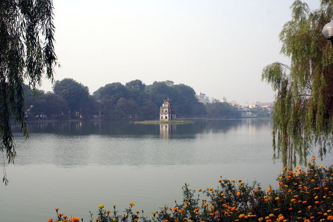 Lake of the Restored Sword (Hoan Kiem Lake), Hanoi, Vietnam