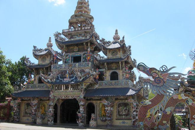 Linh Phuoc Pagoda, Da Lat, Vietnam