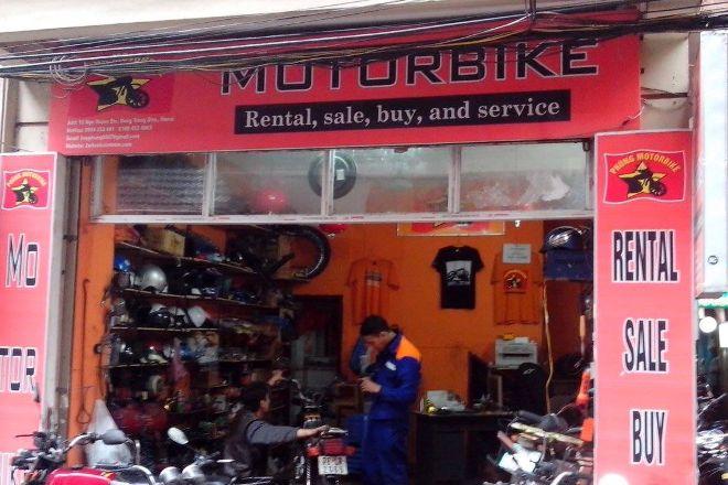 Motorbike Rental, Hanoi, Vietnam