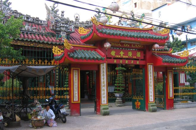 On Lang Pagoda, Ho Chi Minh City, Vietnam
