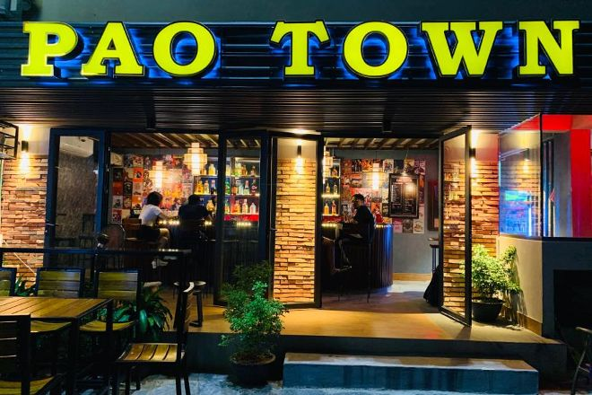 Pao Town Cocktail Bar, Ha Giang, Vietnam