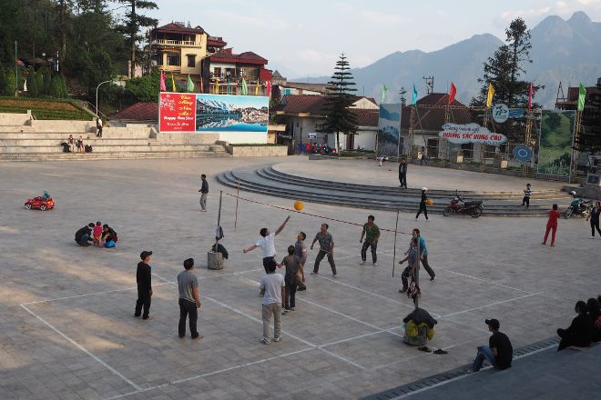Quang Truong Square, Sapa, Vietnam