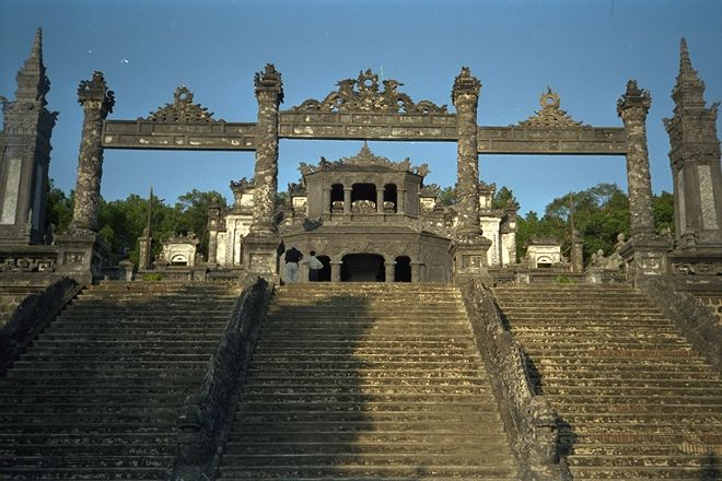 Royal Tombs, Hue, Vietnam