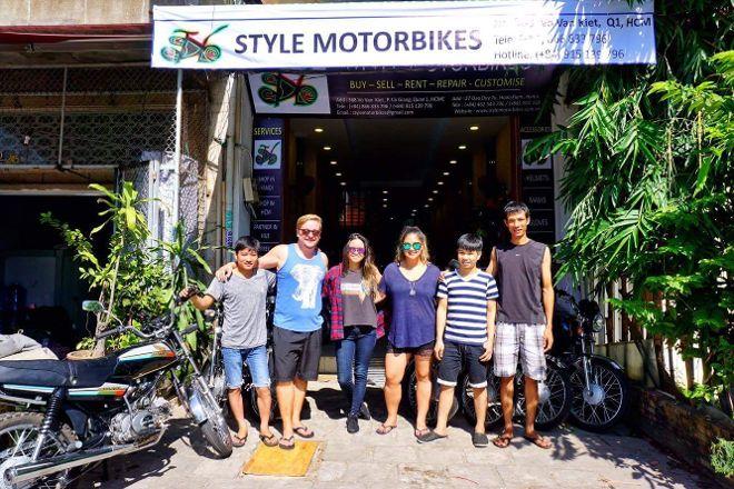Style Motorbikes, Hanoi, Vietnam