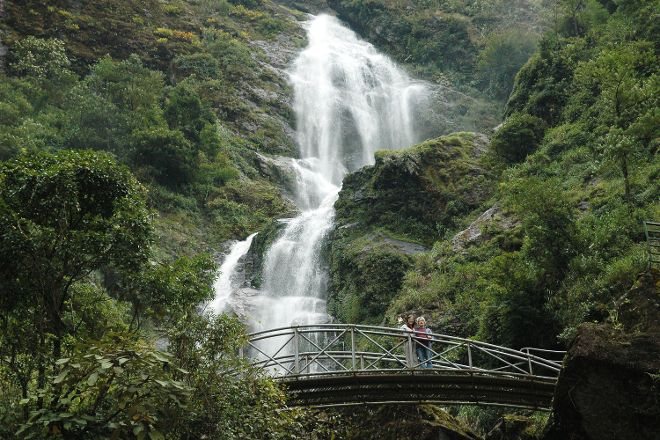 Thac Bac Waterfall (Silver Falls), Sapa, Vietnam