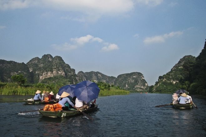 Trang An Grottoes, Ninh Binh, Vietnam
