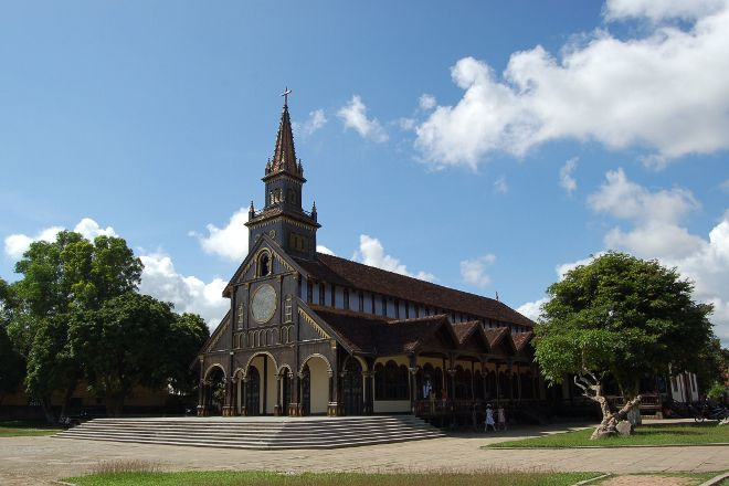 Wooden Church, Kontum, Vietnam