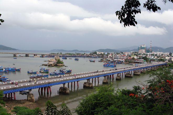 Xom Bong Bridge, Nha Trang, Vietnam