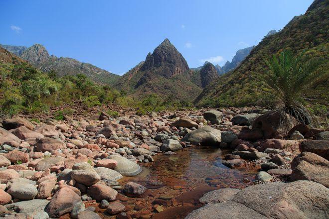 Wadi Dirhur Canyon, Socotra Island, Yemen