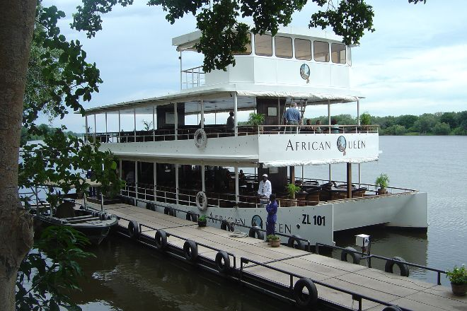 African Queen River Cruise, Livingstone, Zambia