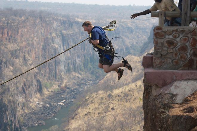 Gorge Swing, Livingstone, Zambia