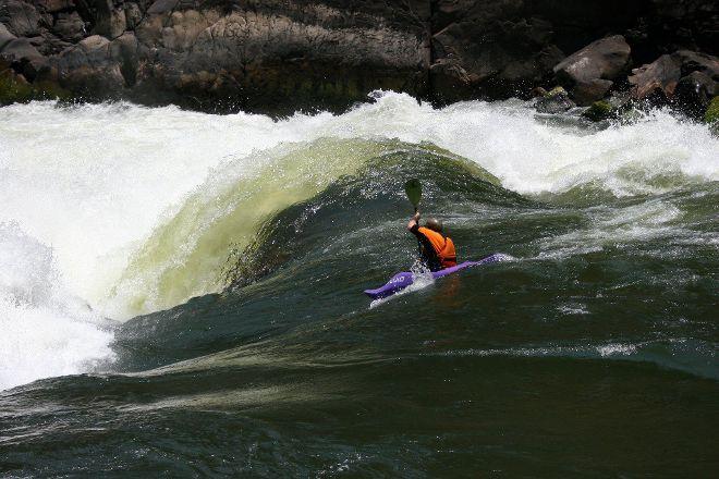 Kayak The Zambezi Day Trips, Livingstone, Zambia